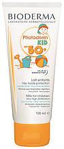 Солнцезащитное молочко для детей Bioderma Photoderm Kid Lait Solaire Enfants SPF 50+  Биодерма Фотодерм Кид100