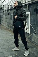 Спортивный костюм мужской Nike, Ветровка + Штаны + Барсетка в подарок