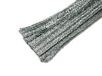 Синельная проволока (шенил) Серебряная 30 см 50 шт/уп, фото 1
