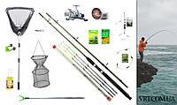 Рыболовный набор на карпа и карася: Фидерное удилище 2.7м. + Катушка на 2 подшипника 0013527