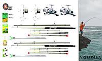 """""""Подарочный рыболовный набор"""" - ДВА Фидерные удочки 2.1м. с полным комплектом снастей для рыбалки 0013621"""