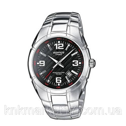Casio EF-125D-1AVEG Silver-Black