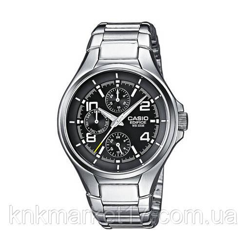 Casio EF-316D-1AVEG Silver-Black
