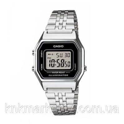 Casio LA680WA-1EF Silver-Black