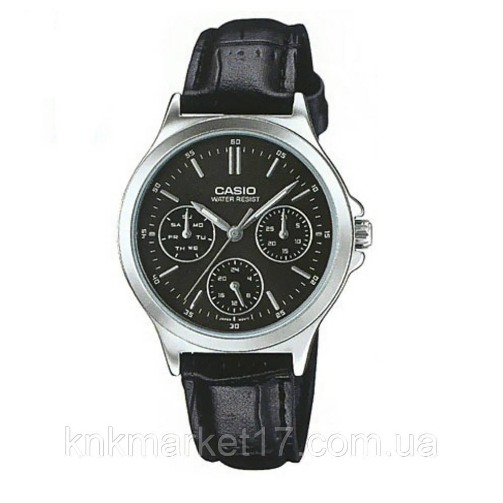 Casio LTP-V300L-1AUDF Black-Silver