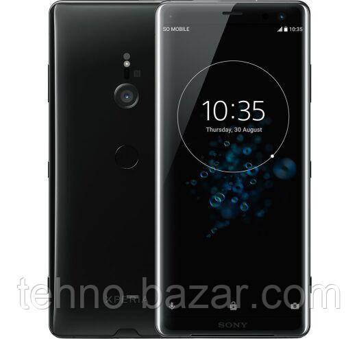 Смартфон Sony Xperia XZ3 H9436 4/64 Gb Black 1Sim, NFS Qualcomm Snapdragon 845 3300 маг