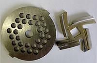 Нож и решетка  для мясорубки HOFFEN (Хоффен) MG-8434