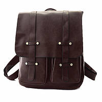 Рюкзак кожзам в винтажном стиле
