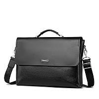 Чоловіча сумка портфель VISE POLO чорна