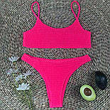 Роздільний купальник жатка, фото 3