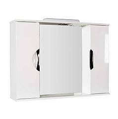 Дзеркало З-11ВР-95 біле (850*165*705) праве з підсвічуванням, ТМ Ніколь