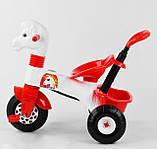 Велосипед трехколесный с родительской ручкой 07-139 Pilsan, фото 4