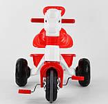 Велосипед трехколесный с родительской ручкой 07-139 Pilsan, фото 3