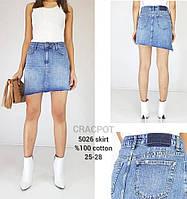 """Спідниця жіноча джинсова на блискавці розміри 25-29 """"JeansStyle"""" недорого від прямого постачальника"""
