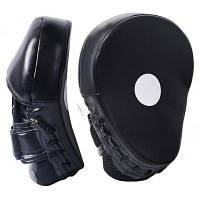 Лапы боксерские PowerPlay 3041 PU Black (PP_3041_Black)