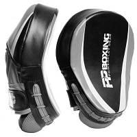 Боксерські лапи PowerPlay 3050 PU Black/Grey (PP_3050_Grey)
