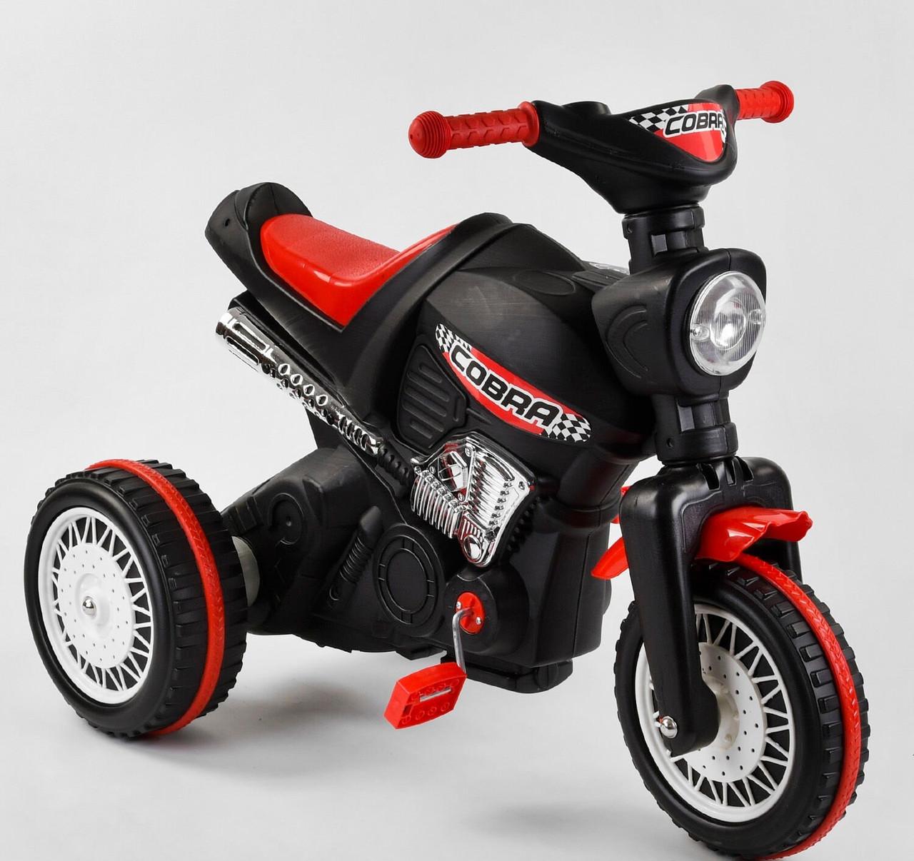 Мотоцикл педальный 07-323 Pilsan