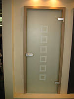 Двери Verto Гласфорд 3 цвет кора пепельная «Verto LINE-3D»