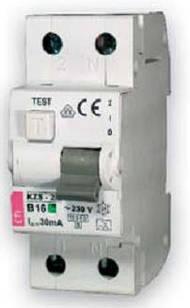 Дифференциальные автоматы  KZS-2M  10А Icu10kA C