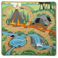 Дитячий килимок Melіssa&Doug з динозаврами (MD19427)