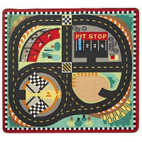 Дитячий килимок Melіssa&Doug Гоночна траса з машинками (MD19401)