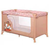 Дитячий манеж Bertoni/Lorelli MOONLIGHT 1L (beige foxy)