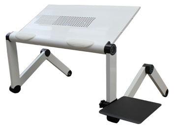 Удобный столик - трансформер для ноутбука металлический