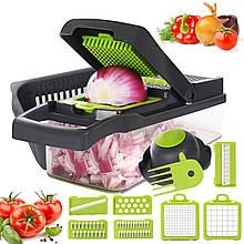 Овочерізка ручна Veggie Slicer 14 в1 універсальна