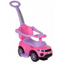 Чудомобиль Lorelli Off Road+Handle pink (OFF ROAD+HANDLE pink)