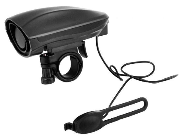 Звонок X17 Horn 3.5 с кнопкой на руле, 120db, 2 режима, черн.