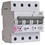 Дифференциальные автоматы  KZS-4M  3p+N 32А (утечка 0,03А)