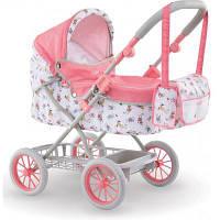 Коляска для кукол Corolle складная с корзиной и сумкой для аксессуаров (9000140460)
