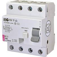 Автоматичний вимикач ETI (ПЗВ) ETI EFI-4 16/0,1 тип AC (10kA)