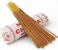 Аромапалочки натуральные индийские благовония Наг Чампа Nag Champa 250 грамм