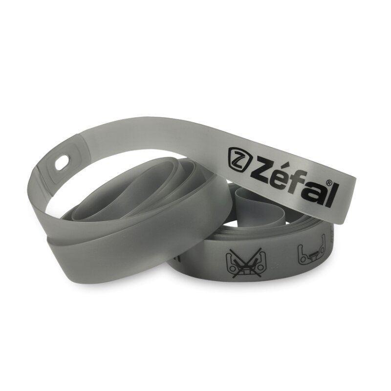 Флиппер Zefal (9350) 622*16 пластиков. эластичн. серый, 2шт. (3420580003500)