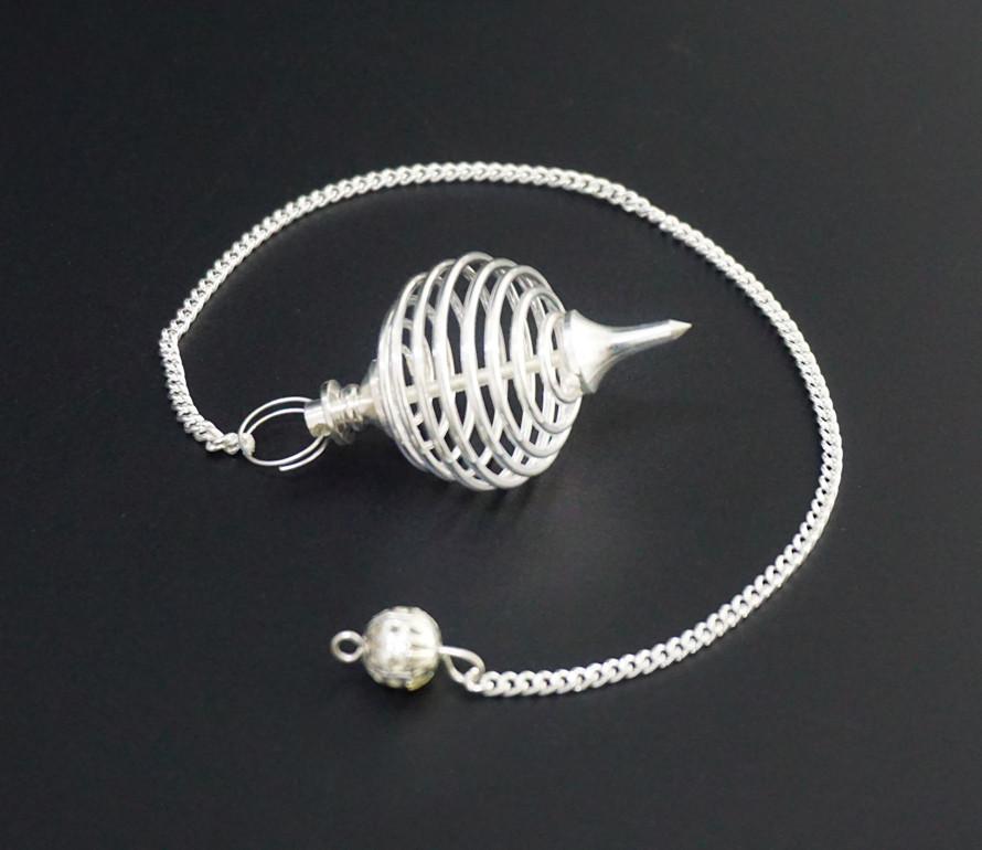 """9020161 Маятник """"Индия"""" метал M.Pen-016 цвет серебро"""