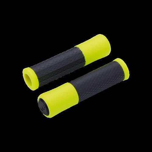 "Ручки руля BBB BHG-97 ""Viper"" 130мм черно-неоновожелтые (8716683116151)"