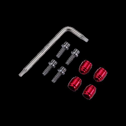 """Ремкомплект гідролінії BBB BCB-280 """"Fitting Kit"""" для SRAM/AVID, латун. 4пар (8716683122145)"""