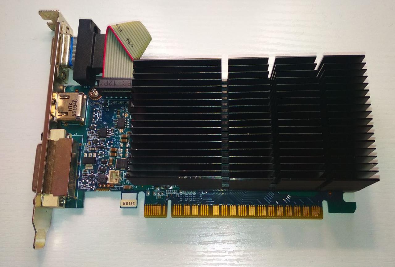 ВИДЕОКАРТА Pci-E nVIDIA GeFORCE GT630 на 1GB DDR 3 и 128 BITс ГАРАНТИЕЙ ( видеоадаптер GT 630 1 Gb  )