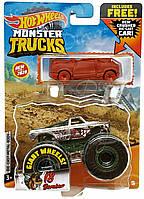 Монстр трак Hot Wheels Monster Trucks - V8 Bomber - 2020 Car Combo, Хот Вилс. Mattel Оригинал