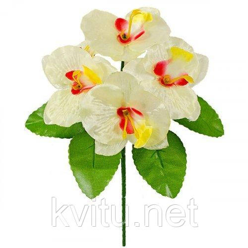 Искусственные цветы букет орхидейки бордюр, 21см
