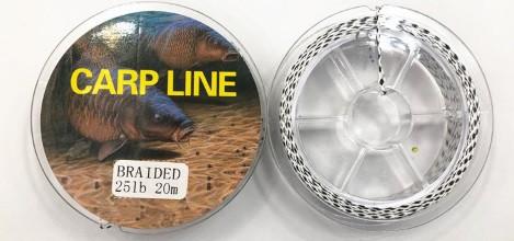 Поводочный материал  Carp Line  20м 25lb