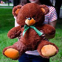 Плюшевый мишка 65 см шоколадный, Подарок для девушки, детям