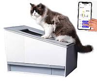Автоматичний туалет для кішок CAT VILLA WiFi, фото 1