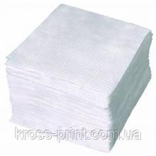 Салфетки столовые 100шт белые 50шт/уп