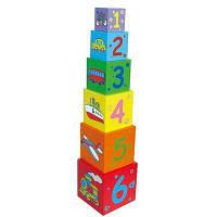 Кубики Viga Toys Пирамидка (59461)