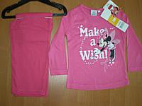 Детская пижама для девочки Sun City, 3-8лет