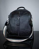 Женский кожаный городской рюкзак коричневый / женские рюкзаки / из кожи, фото 1