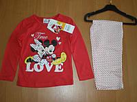 Детская пижама для девочки Sun City, 3, 4года