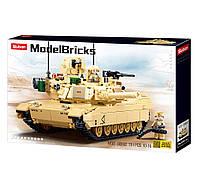 """Конструктор Sluban Model Bricks M38-B0892 """"Боевой танк Abrams"""" (781 дет)"""